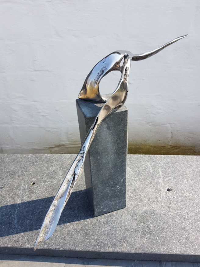 Glacier Fish in stainless steel