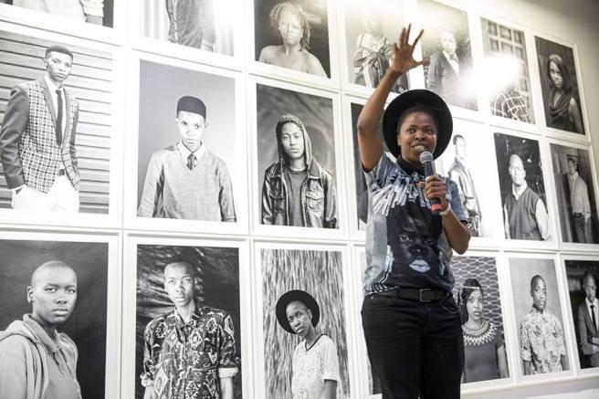 Zanele Muholi image taken by Sipho Gongxela