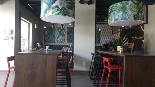 Cowfish interiors