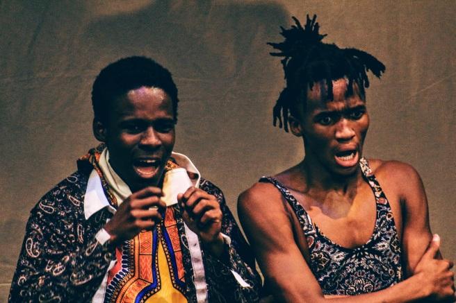 Mathews Rantsoma and Sinehlanhla Mgeyi