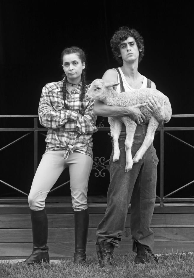 Roberto Pombo and Inge Crafford-Lazarus