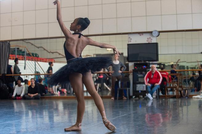 Joburg Ballet_Ana Paulina rehearsing Raymonda Act 3_Photo Lauge Sorensen