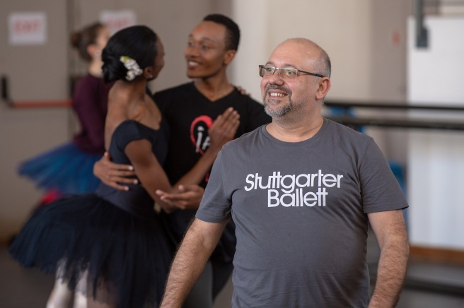 Joburg Ballet_Guivalde de Almeida in Raymonda rehearsals_2_Photo Lauge Sorensen