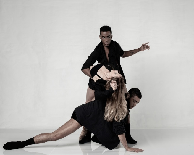 Joburg Ballet_(top to bottom) Ruan Galdino, Shannon Glover & Revil Yon in Whispers Of My Soul_photo Lauge Sorensen_med res