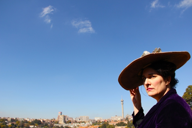 Florence with Joburg backdrop