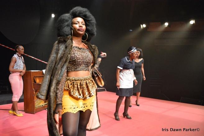 In song Noxolo Dlamini, Mona Monyane Skenjana, Lerato Mvelase and Busi Lurayi