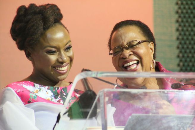 Chimamanda and Graca