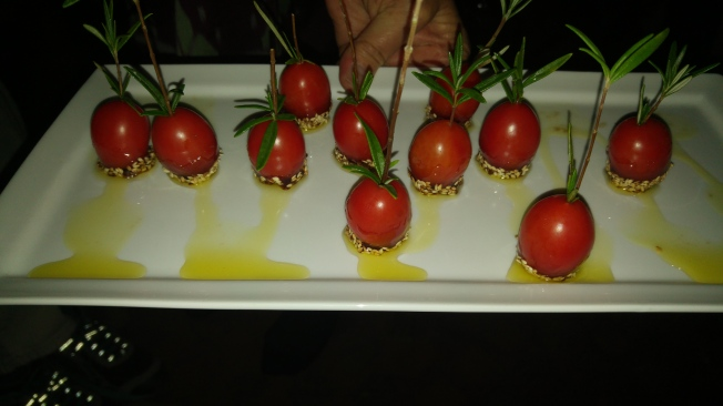 Canopies of toffee tomatoes