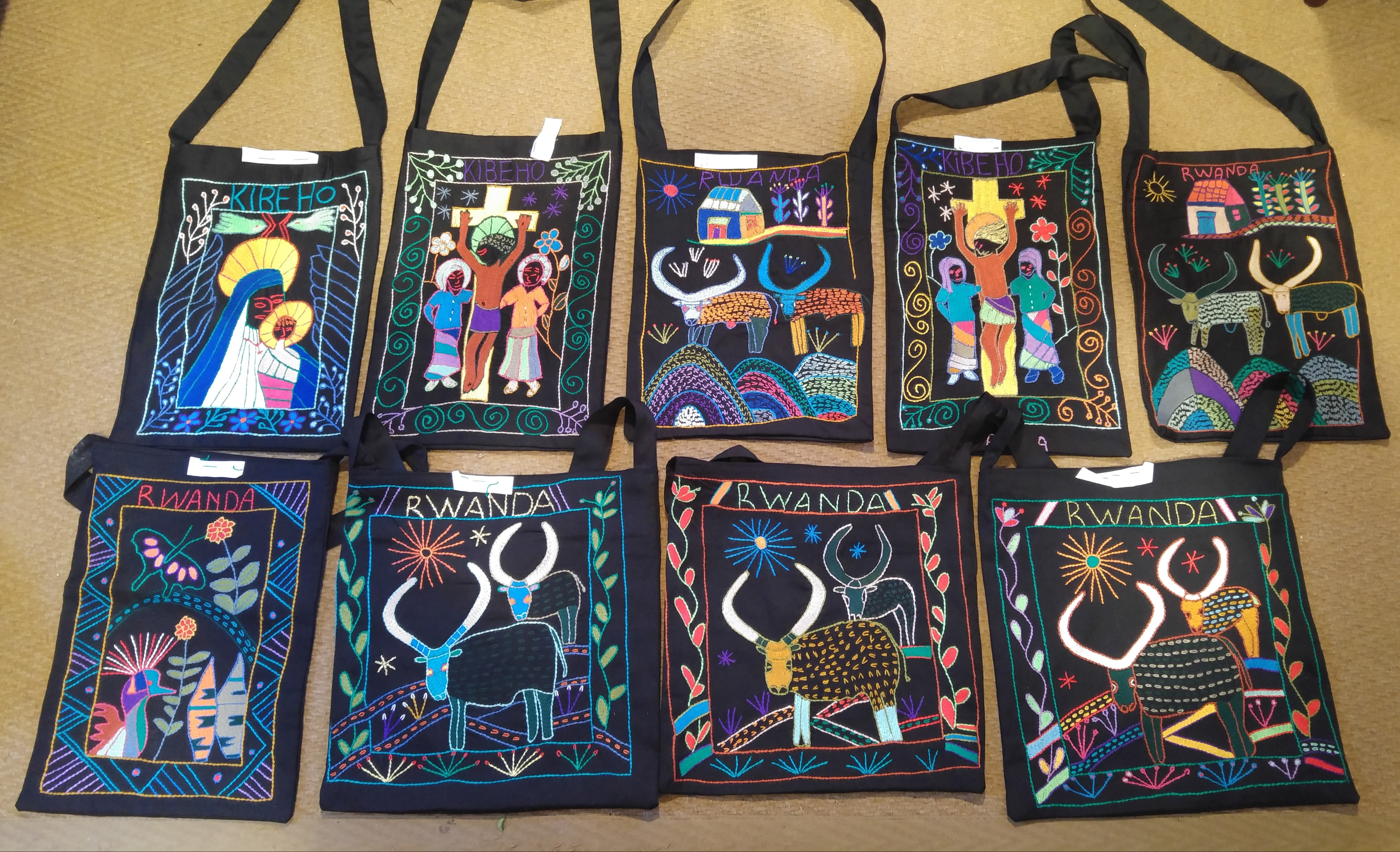 Rwandan embroideries