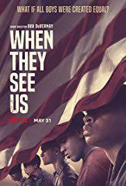 QWehn They See us poster