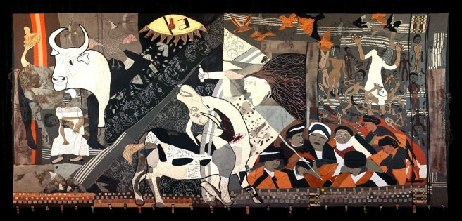 The Keiskamma Guernica by members of the Keiskamma Art Project