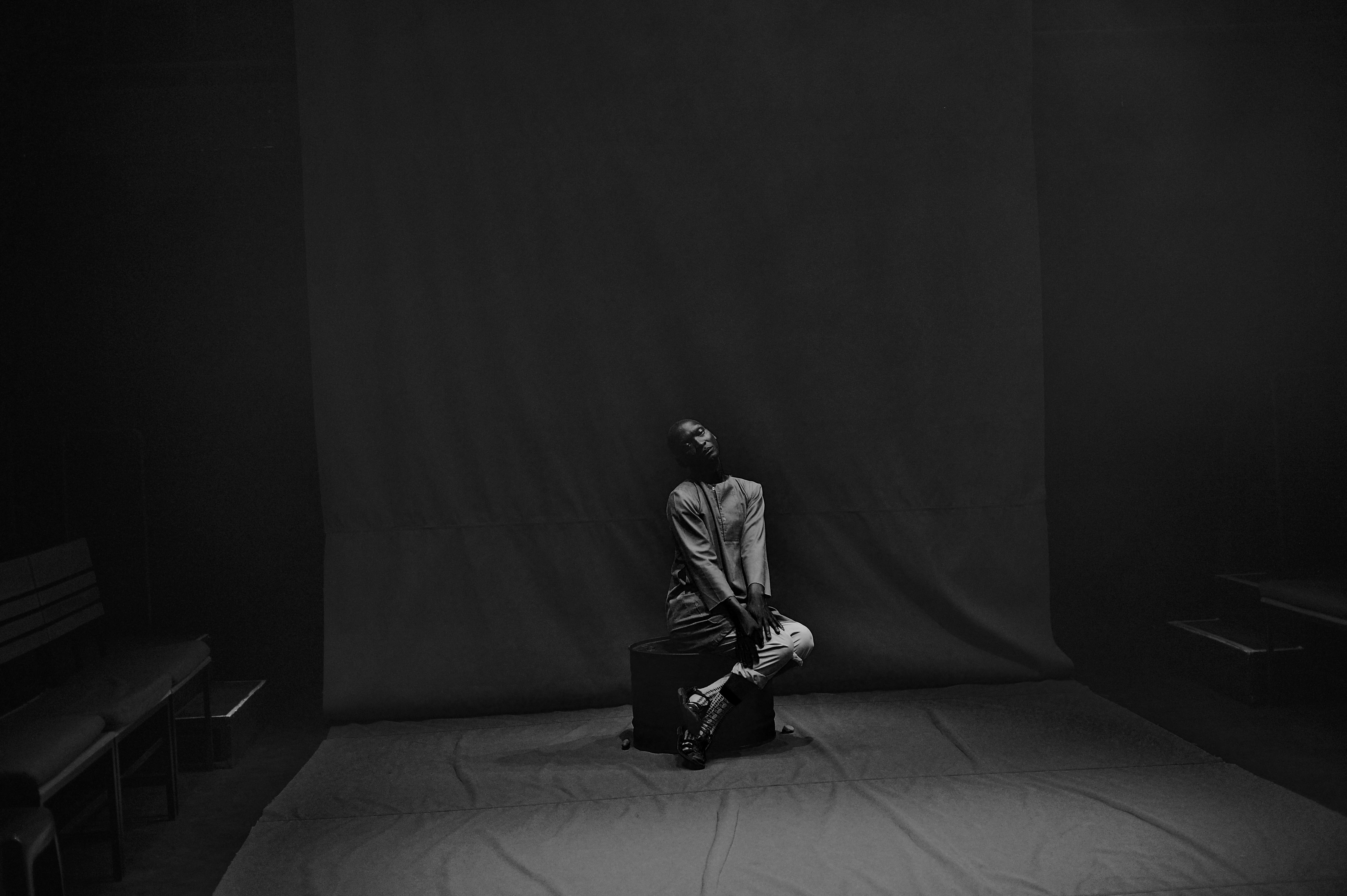 Warreen Masemola in contemplation