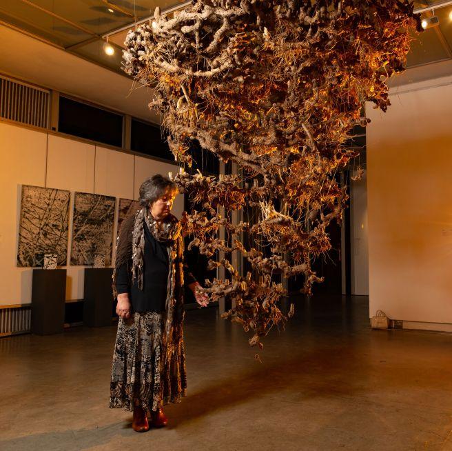 S Cecilia Maartens-Van Vuuren (Bloemfontein) A presentiment Dried roots.jpg