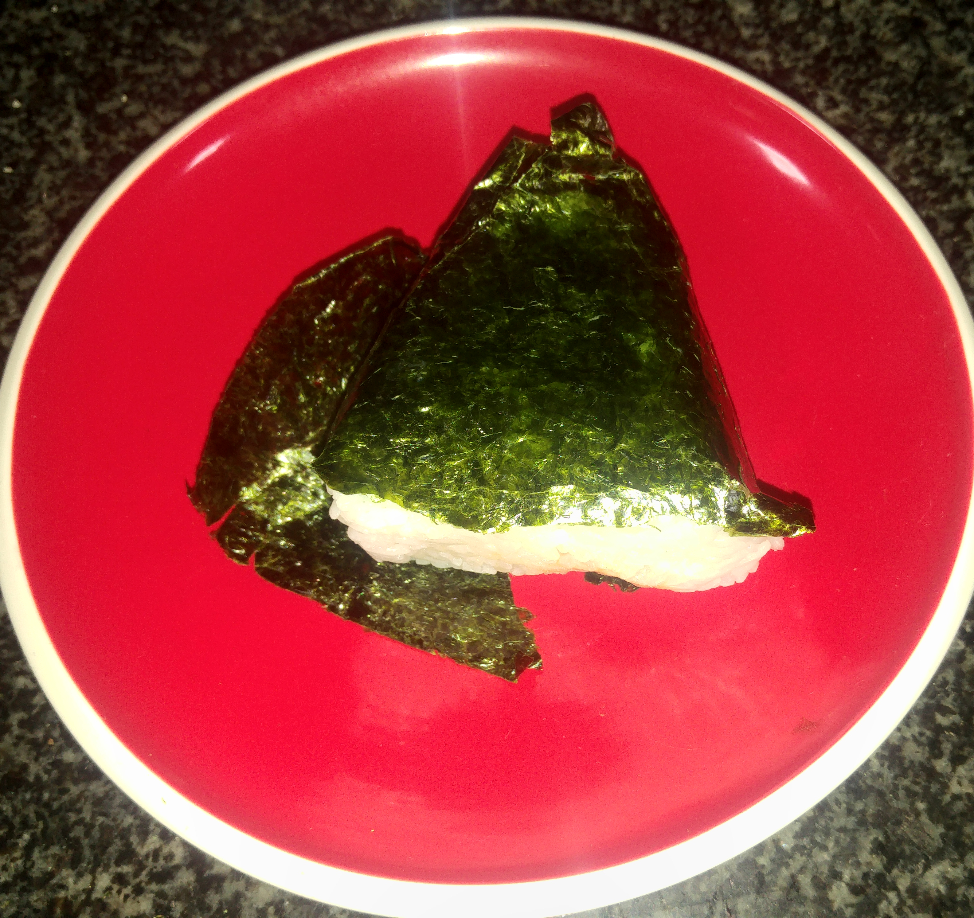 The perfect Japanese snack, onigiri or rice balls