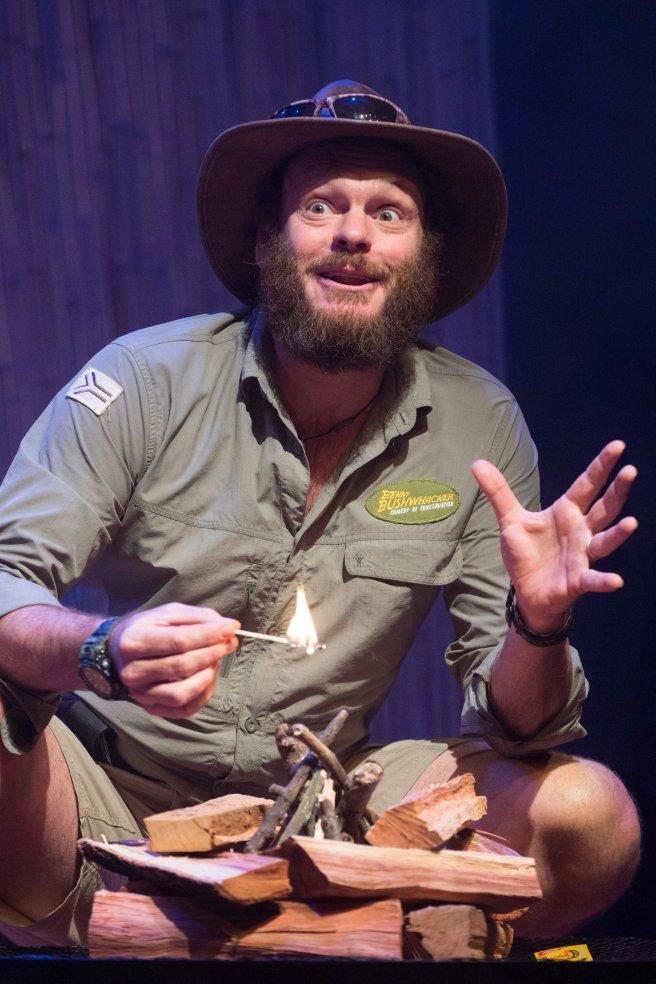 Ben Voss is Benny Bushwhacker. Photo credit_Val Adamson - Photo 2