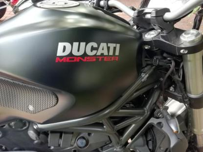 Black Ducati - not to be messed with.