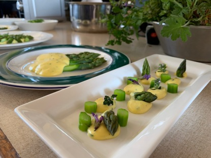 A study in asparagus by Chef Victor Lucas