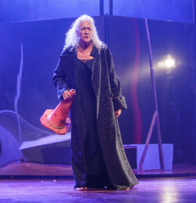 Koningin Lear in storm