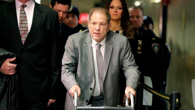 Harvey Weinstein at court