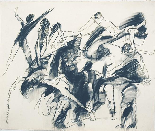 Majak Bredell Gesture Drawings