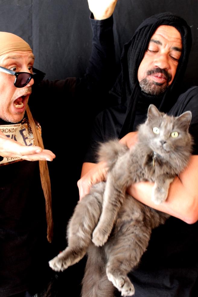 KKNK Dis 8.Waldi en Brendon en kat